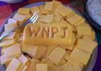 The cheese stands alone at the Echo Valley/WNPJ meet and greet