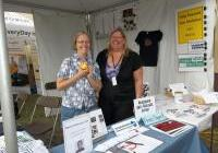 Kristina and Heidi of WAVE at the Energy Fair 2012
