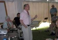 Al Gedicks speaks about mining threats at the Energy Fair 2012
