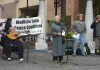 Madison rally marking the 11th anniversary of the U.S. invasion of Afghanistan - Oct 6, 2012