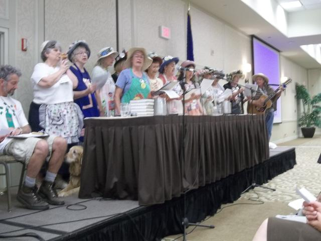 VFP Convention 8/8/13: John Peck and the Raging Grannies