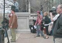 Organizers of May Day, Madison 2009 - Alex Gillis of UTI - Jim Cavanaugh of SCFL and others