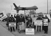 Anti-drone Vigil in Janesville