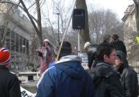 Madison Area Peace Coaltion Rallies Against War - 3/20/10
