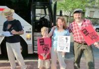 Bus to Chicago from Madison - for the NATO protest May 2012