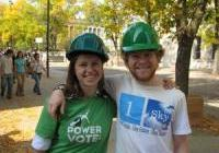 Susan and John of 1sky - Rally for Green Jobs - Madison