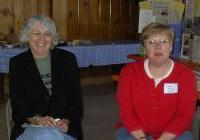 Joanne Robson and Deb Meyer - SC members
