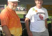 Steve Books (right) and friend at Bobfest