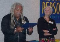 George Martin Introduces Peacemaker, Julie Enslow - Oct. 4th, '08