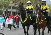 May Day - in Madison 2009