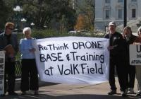Drone protest - Madison, WI